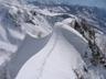 ようやく雪稜登攀らしくなってきた