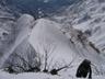 最後の雪壁以外にもこんな登りが
