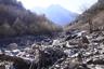 歌宿沢出合付近の戸台川上流方面