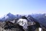 第一高点でようやく姿を現した甲斐駒ヶ岳