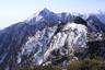 鹿窓、第二高点と甲斐駒ヶ岳