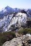 第一高点から甲斐駒ヶ岳