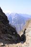 小ギャップから見える仙丈ヶ岳