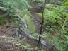 苔むした滑滝