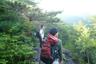 しばらく立場川本谷をはさんだ山々を眺める