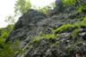 第一岩峰のあたり