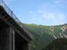 高瀬ダムから見える烏帽子岳か?