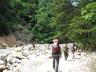 ホッと一息の河原歩き