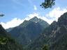 湯俣岳への登りから望む北鎌尾根