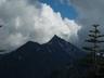 湯俣岳からの大槍と独標