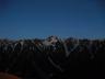 夜明け前の鷲羽岳