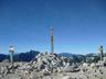 「野口五郎」が隠されている「岳山頂」の頂標