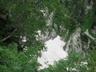 雪渓の残る奥又白谷