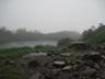 雨の奥又白池