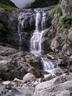 第一スラブ末端の滝