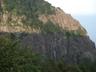 三ッ峠山荘からの屏風岩全景