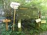 熊倉山登山道案内図