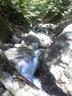 二俣手前の小滝群