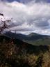 滝子山頂上から望む大菩薩連嶺
