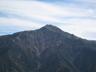 幕営地から見る北岳北面
