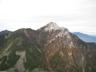 栗沢山からの甲斐駒ヶ岳