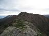 栗沢山からのアサヨ峰