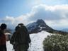 薬師岳より地蔵岳を望む
