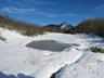 阿寺山手前の池から丸岳