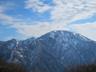 阿寺山付近から中ノ岳