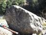 日当たりの良いすべり台岩