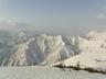 源蔵山頂上から見る越後の山々