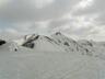 灰ノ又山頂から荒沢岳を見る