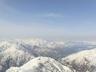 中ノ岳山頂から、絶景