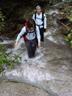 水流の中を登るR