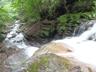 5m滝の落ち口