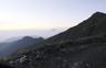 テン場より朝の富士山