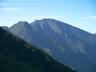 六百山(手前)と霞沢岳