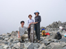前穂高岳山頂