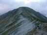 双六岳から三俣蓮華岳へ