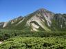 三俣山荘から鷲羽山