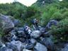 水流のある北鎌沢