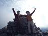 登頂、やったね!