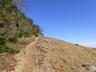 稲子岳稜線に登山道
