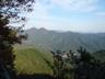 蕨山から伊豆ヶ岳を見る