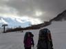 オープン初日の天神平スキー場