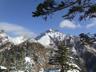 P1付近から赤岳方面