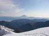 本邦第二の高峰から望む第一の高峰