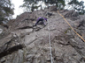 まずはビブラムで登るR