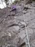 アイゼン登攀の方がいくぶん登りやすそうなR