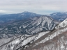 阿能川岳より吾妻耶山、後方には子持山と榛名山